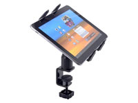 Table / Desk Mount: C-Clamp Base with Universal Tablet Holder