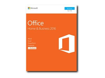 Microsoft Office Home & Business 2016 (Retail Box)