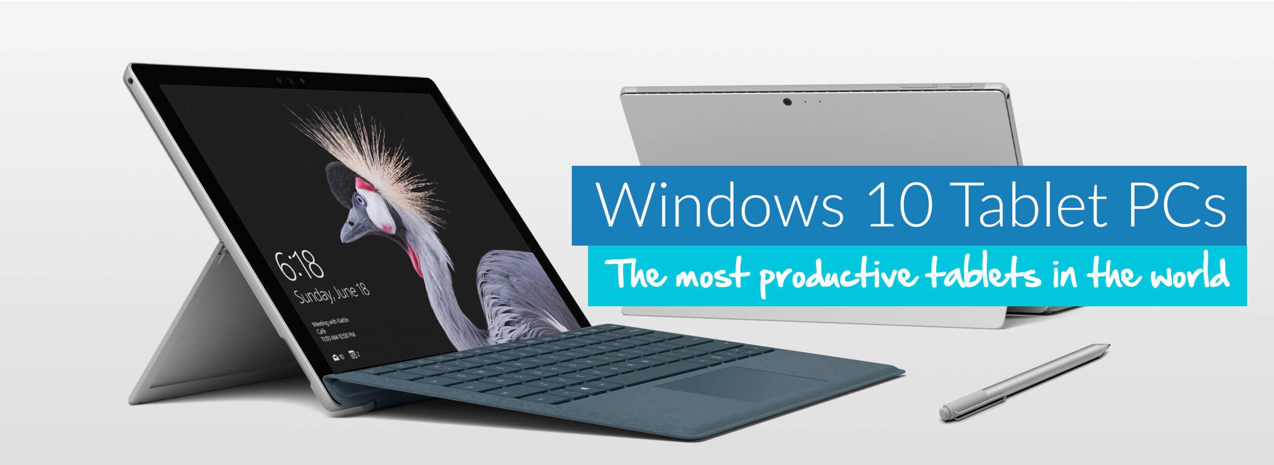 Windows 10 Tablet PCs