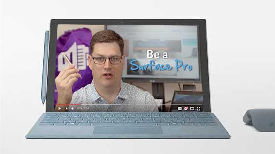 Be a Surface Pro