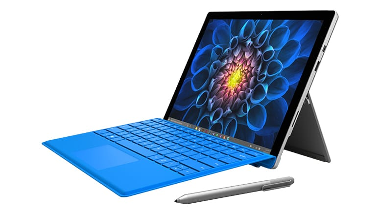 Microsoft Surface Pro 3 and 4