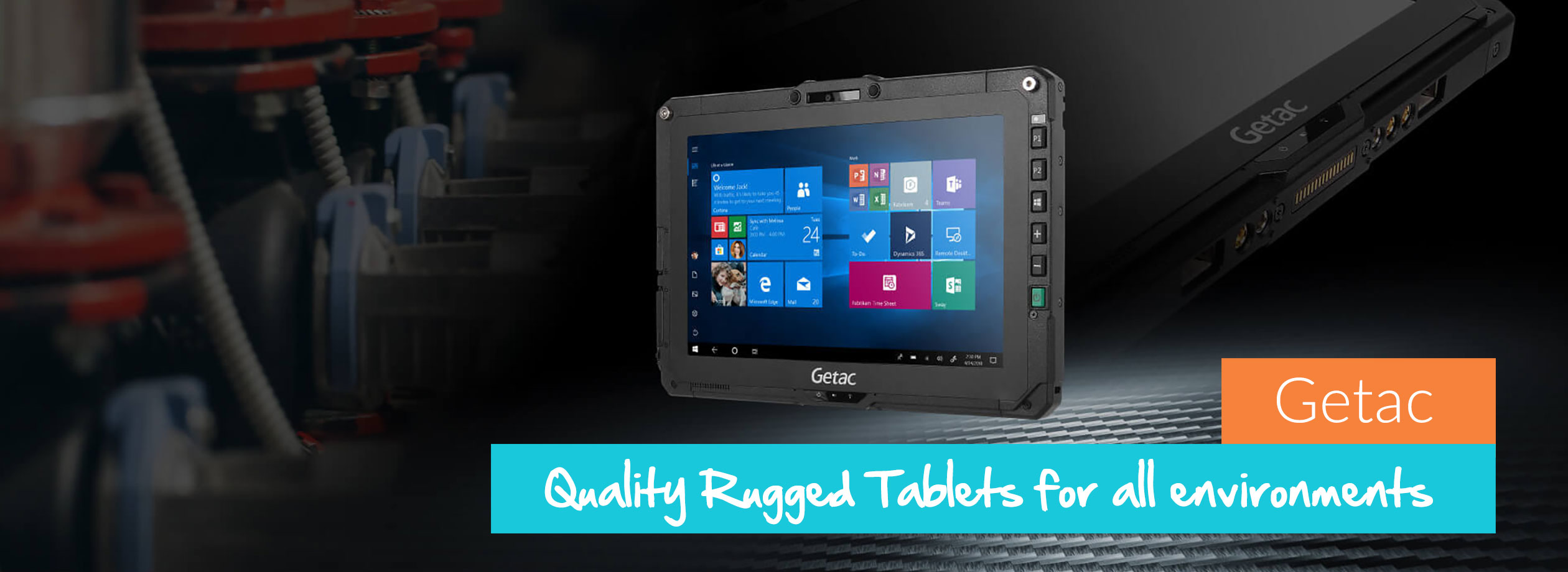 Getac - Quality Rugged Tablets for Rugged Environments