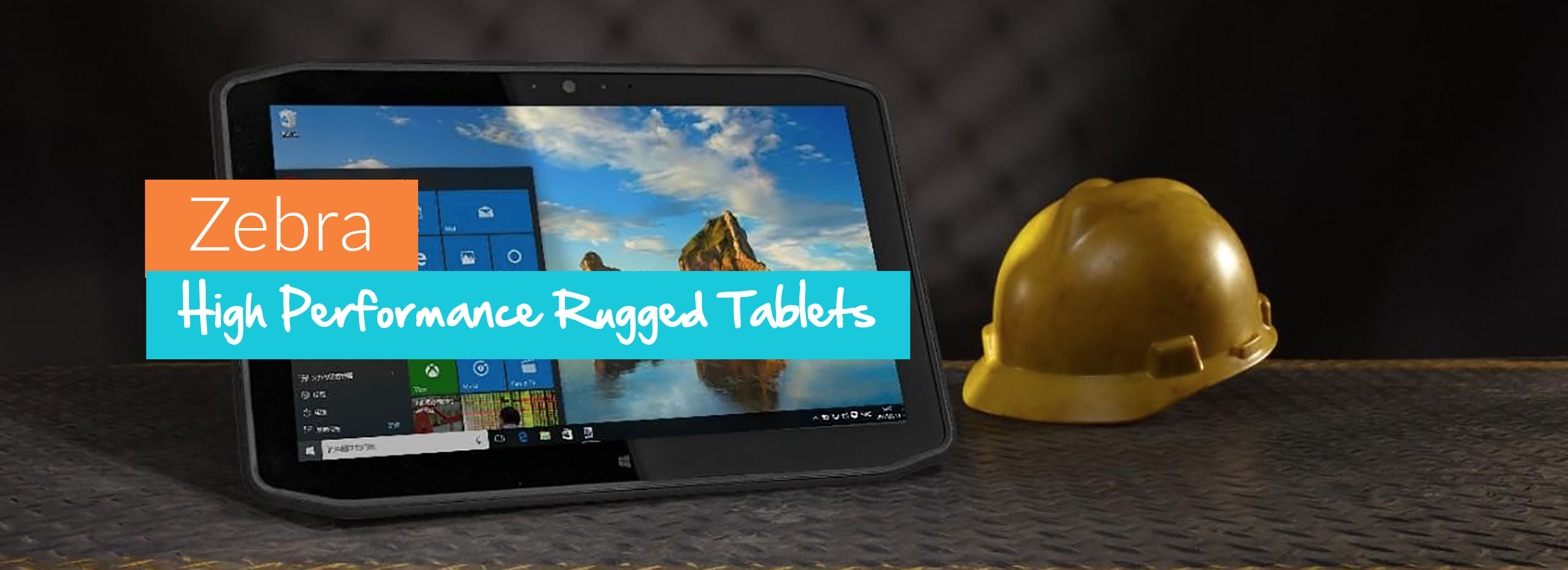 Zebra Tablets - High Performance Rugged Tablets