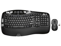 Logitech Wireless Wave MK550 Keyboard & Mouse Combo