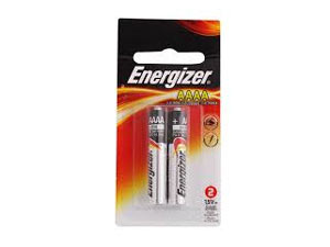 Energizer 1.5V Alkaline AAAA Battery - Pack of 2