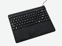 Man & Machine Black USB Disinfectable Keyboard
