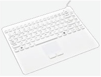 Man & Machine White USB Medical Keyboard