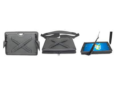 Bump Case With X Elastic Hand Strap For Surface Pro 3